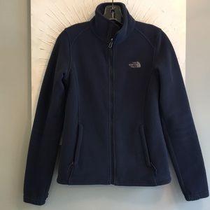 NWOT The North Face full zip fleece jacket XS